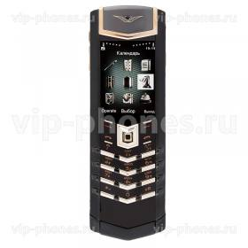 Vertu Signature S Design Black Red Gold