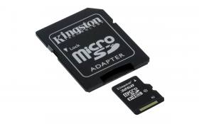 Карта памяти Kingston MicroSDHC 32gb class 10