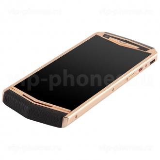 Vertu Aster P Gold Black Leather Exclusive